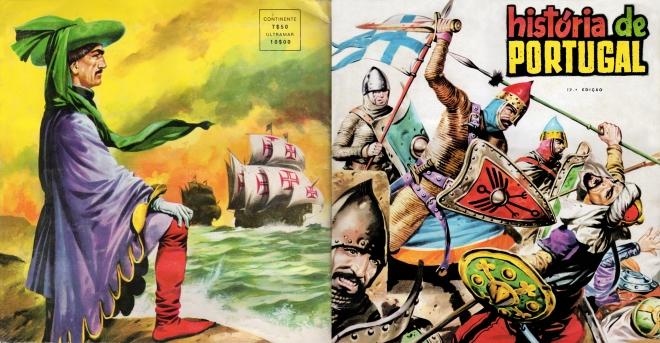 História de portugal capa e ccapa edição pequena