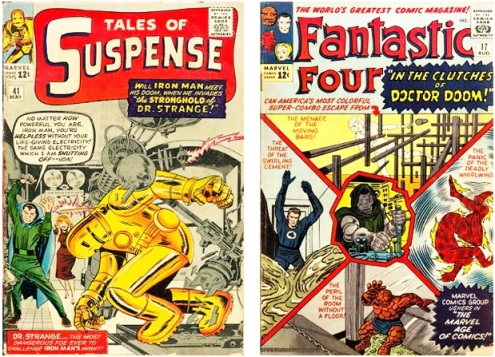 Tales of Suspense& Fantastic four