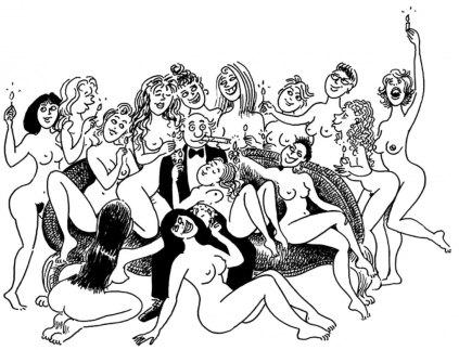 Wolinski - 50 ans de dessins