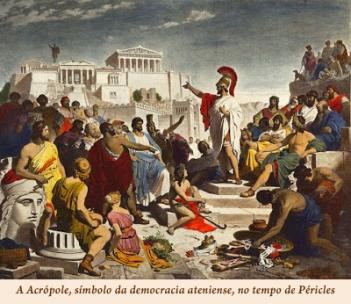 Acrópole no tempo de Péricles