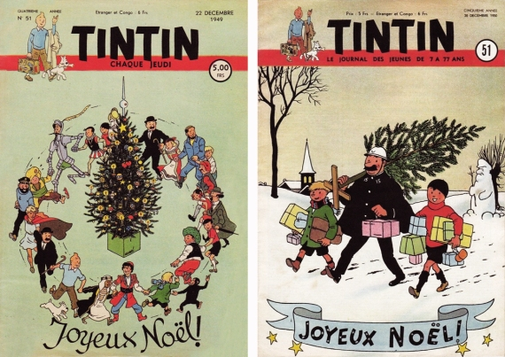Tintin 51 Natal 1949 e 1950